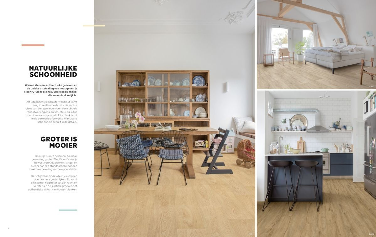 Vinyl Vloer Kleuren : Nieuw floorify vinyl vloeren