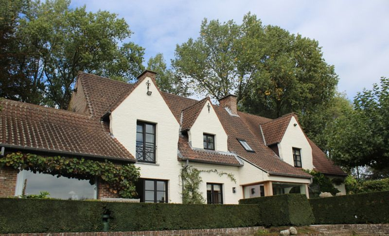 Villa in Brusselse - Exterieur - Realisaties